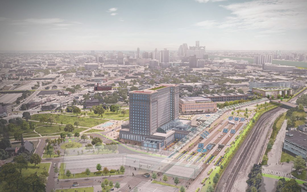 Learn More About Our Partnership With Newlab and Ford's Michigan Central in Detroit!